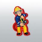 cuscino di profilo Fireman Sam