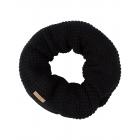 Roadsign Men's loop scarf, black, one size