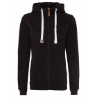 Ladies Basic Sweat Jacket, black, S