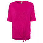 Kimonoshirt da donna Simple Knot, rosa