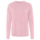 Maglione da donna in maglia fine Basic, rosa