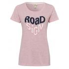 Damska T-Shirt Roadsign , różowa