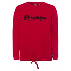 Ladies sweat pullover Roadsign , red