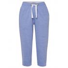 Damen 3/4 Sweat Pants, mittelblau-melange, sortier