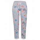 """Damskie spodnie do joggingu """"allover tropical"""", sz"""