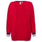Cardigan da donna Cherry Stripes, rosso, ordinato