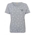 Donne T-Shirt Cherry Lady, grigio melange, assorti