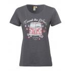 Women T-Shirt RH Travel the world, anthracite, ass