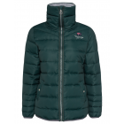 Ladies quilted jacket City Love, dark green, assor