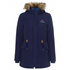 Ladies parka, marine, assorted sizes