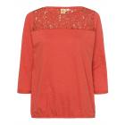 Ladies long sleeve shirt Indian Summer, orange, as