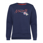 Women's sweatshirt Moments, marine, assorted s