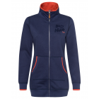 Be Nice women's sweat jacket, marine, assorted