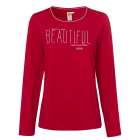 Ladies long sleeve shirt Beautiful, red, assorted