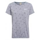 Damen T-Shirt Ahoi, grau melange, sortierte Größen