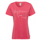 Ladies T-Shirt Australian Summer, 3XL, coral
