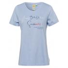 Damen T-Shirt Australian Summer, XL, hellblau