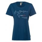 Damen T-Shirt Australian Summer, S, marine