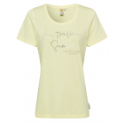 Ladies T-Shirt Australian Summer, M, yellow
