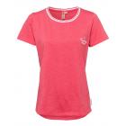 Damen T-Shirt Roadsign Summer, L, coralle