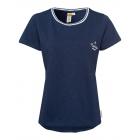 Damen T-Shirt Roadsign Summer, S, marine