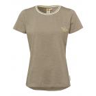 Damen T-Shirt Roadsign Summer, L, khaki
