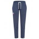 Damen Joggingpants Roadsign heart, 2XL, marine mel