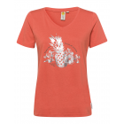 Damen T-Shirt Enjoy Fruits, orange, sortierte Größ