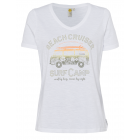 Damen T-Shirt Beach Cruiser, weiß, sortierte Größe