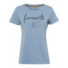 Ladies T-Shirt favorite, light blue, assorted size