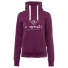 Ladies sweatshirt Tube be responsible, bordeaux, s