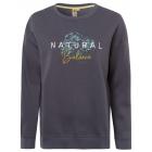 Damen Sweatshirt Rundhals Naturals, anthrazit, sor