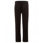 Damen Velour Joggpant, schwarz, sortierte Größen