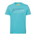 Men's T-Shirt Active, petrol, assorted sizes