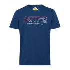 caballeros T-Shirt Tamaños activos, marinos, surti
