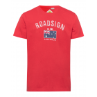 Messieurs T-Shirt Drapeau australien, rouge, taill