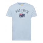 Messieurs T-Shirt Drapeau australien, bleu clair,