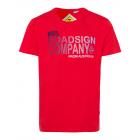 caballeros T-ShirtRoadsign Empresa, rojo, surtido