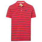 Polo homme rayures, rouge / bleu marine, assortime