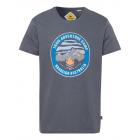Camicia da uomo con stampa Trail Adventure, antrac