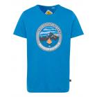 Camicia da uomo con stampa Trail Adventure, royal,