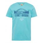 Chemise homme imprimé Sydney Harbour, pétrole, ass