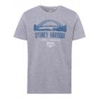 Camisa estampada para hombre Sydney Harbour, gris
