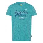 Herren T-Shirt Pacific Soul, petrol melange, sorti