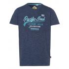 Panowie T-Shirt Pacific Soul, niebieski melanż, so