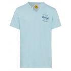 Henley Down Under, bleu, tailles assorties