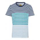 Men's T-Shirt Striped Pacific, blue / petrol /