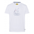 Men's T-Shirt Sailing Club, white, assorted si