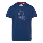 signori T-Shirt Sailing Club, marine, dimensioni a