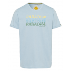 Messieurs T-Shirt Paradise, bleu clair, taille ass